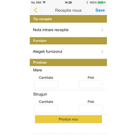 eGoli - aplicatie mobila pt retail