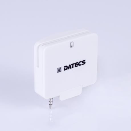 Cititor de carduri dual smart Datecs DRD-50D alb